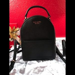 Kate Spade mini convertible backpack Cameron NWT